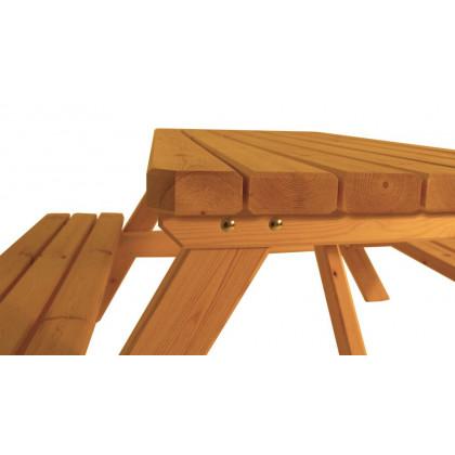 Zahradní párty stan nůžkový 3x3 m - béžový