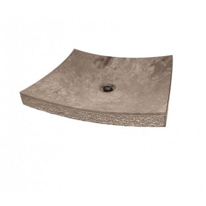 Koš na špinavé prádlo 57L - fialový CURVER