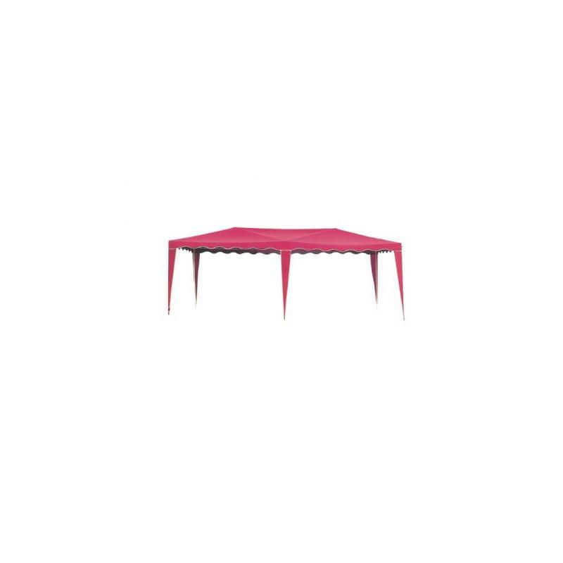 Zahradní stan altán 3601-PL  červený 3 x 6 m