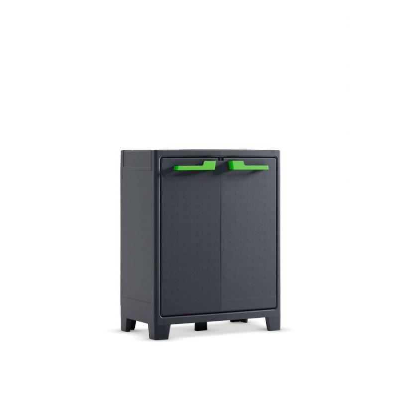 Plastová skříň MOBY LOW - 100 x 80 x 44 cm