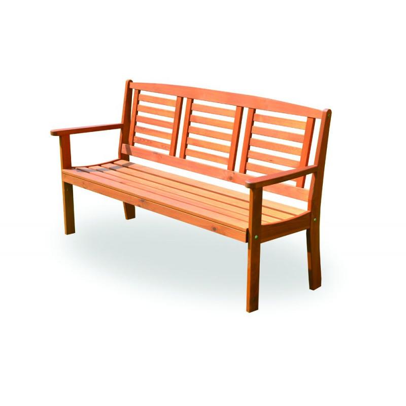 Dřevěná zahradní lavice EDEN FSC