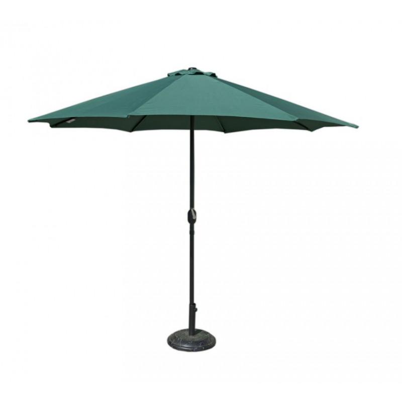 Slunečník  270 cm - zelený