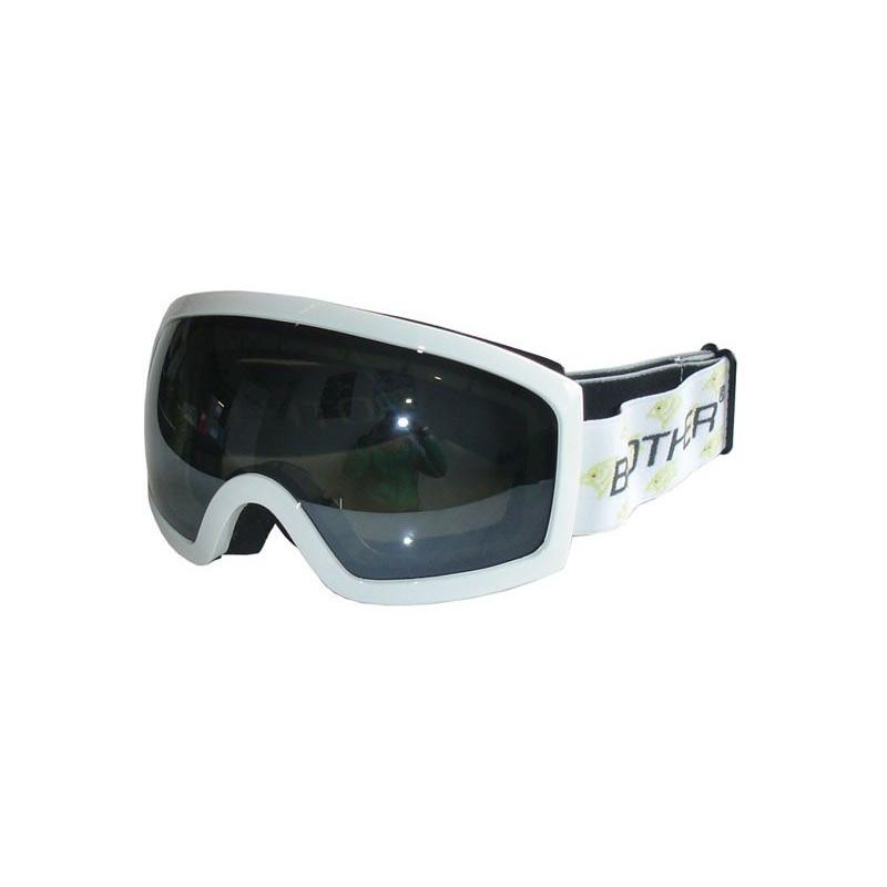 Lyžařské brýle pro dospělé B276- bílé
