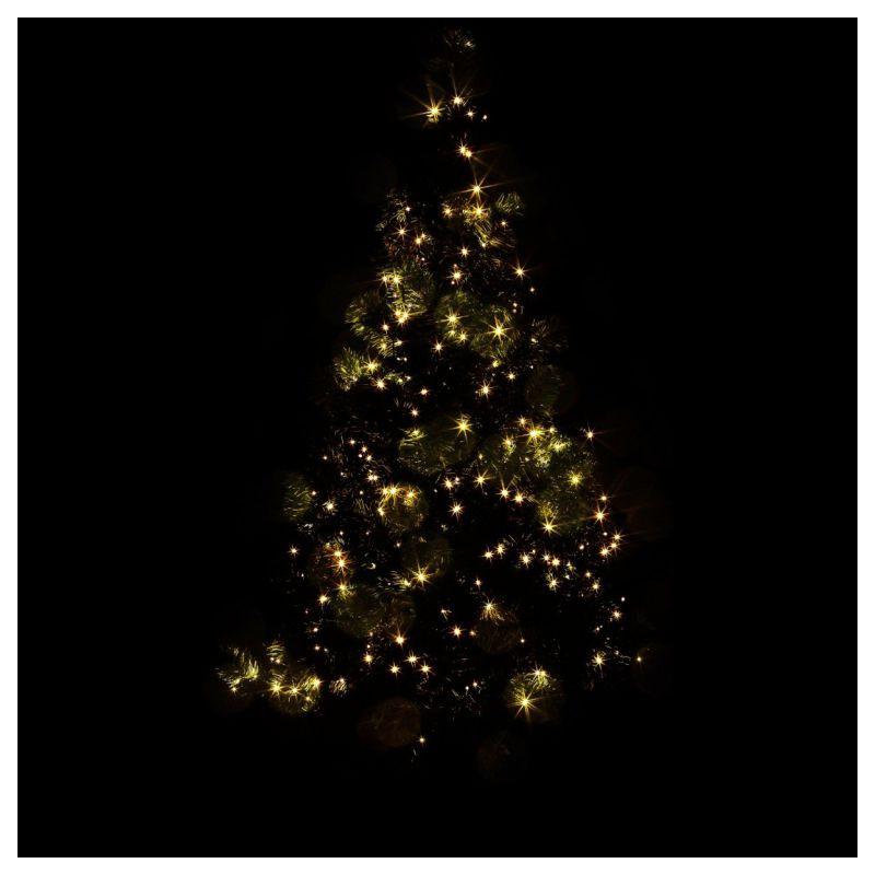 Vánoční LED osvětlení 10 m - teple bílá 100 LED
