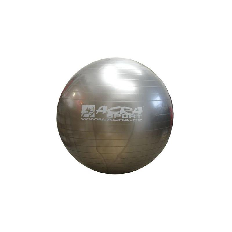 Míč gymnastický 750 mm šedý