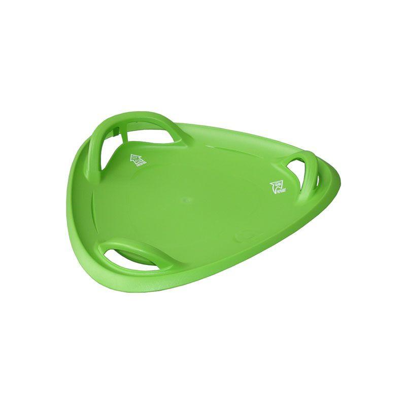Meteor 60 talíř sáňkovací - zelený