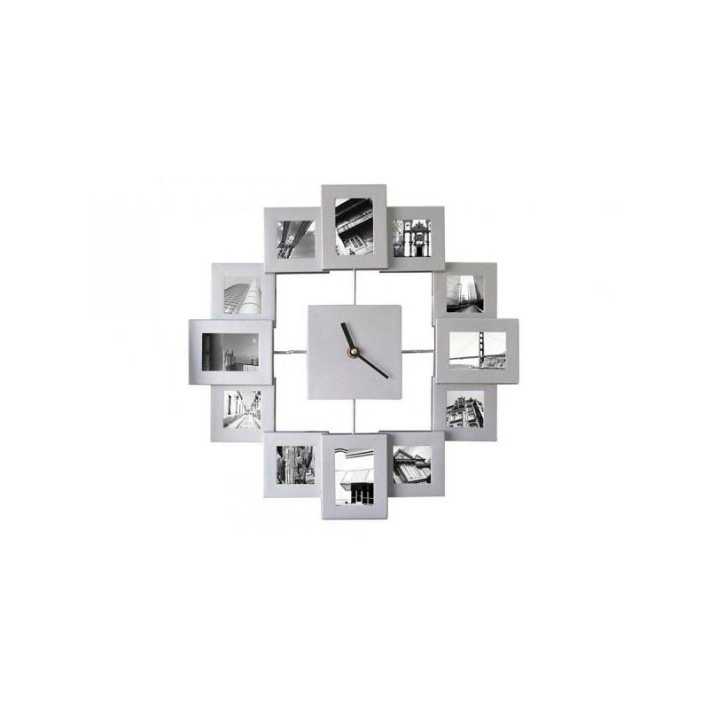 Nástěnné hodiny Fotorámečky 45 cm