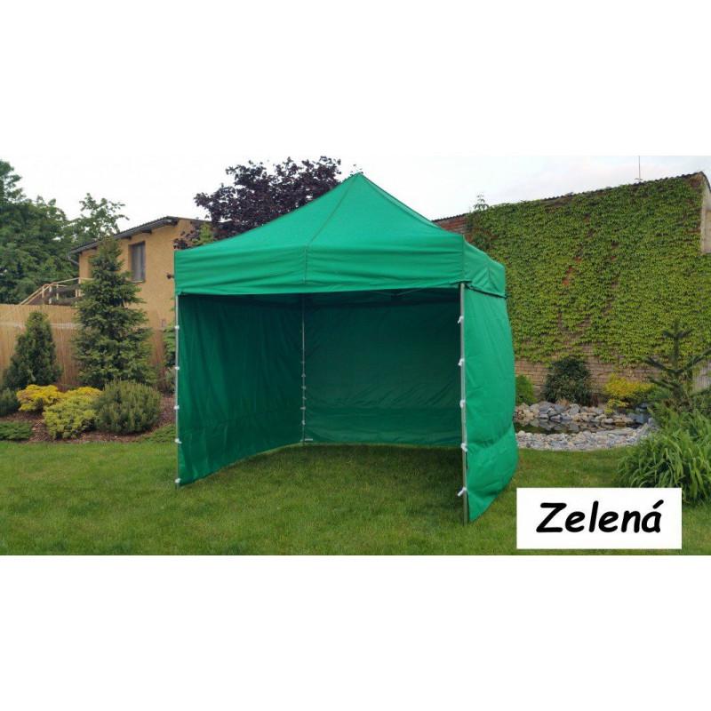 Zahradní párty stan PROFI STEEL 3 x 3 - zelená