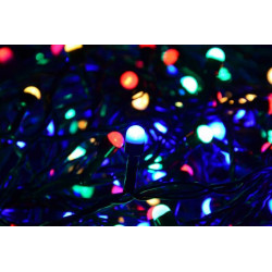 Vánoční LED osvětlení 10 m - barevné, 100 MAXI LED diod