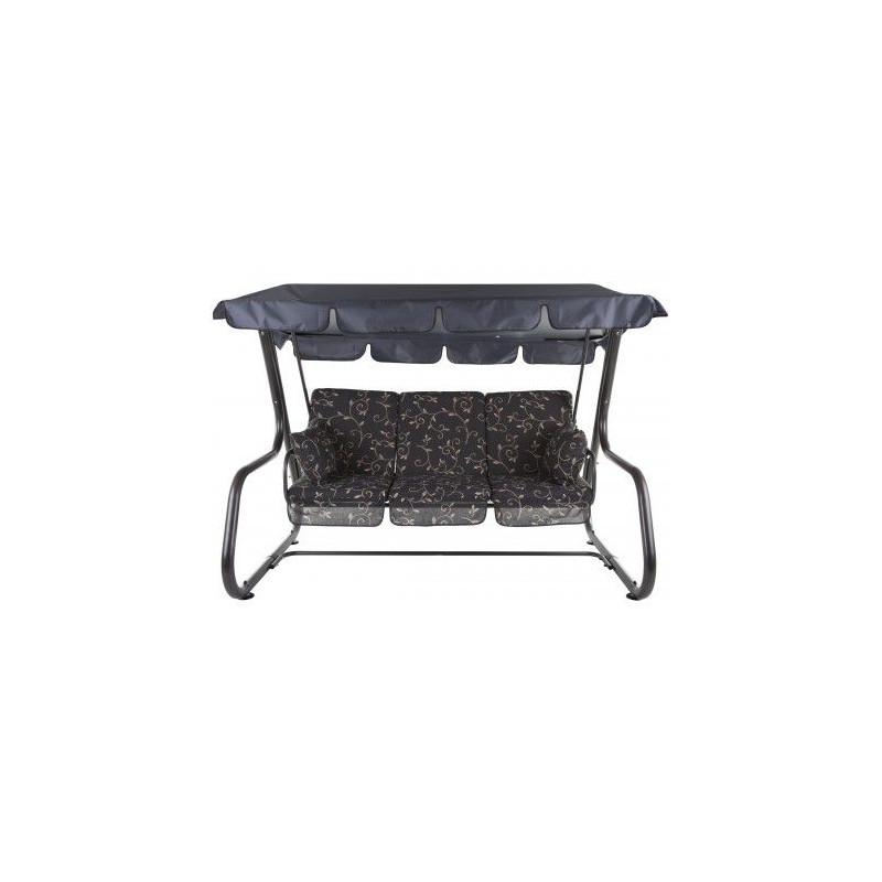 Zahradní houpačka RIMINI - tmavá