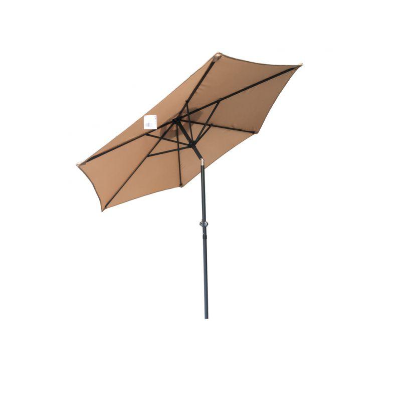Slunečník NAKLÁPĚCÍ  ø 230 cm - béžový