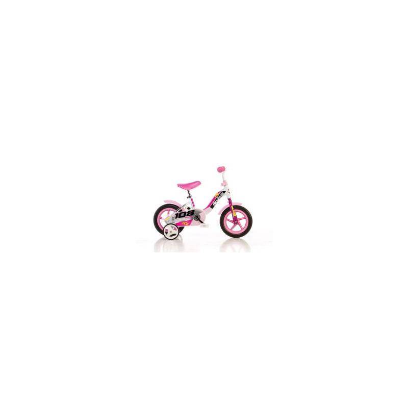 """Dětské kolo DINO Bikes 101GLN růžová 10\"""""""