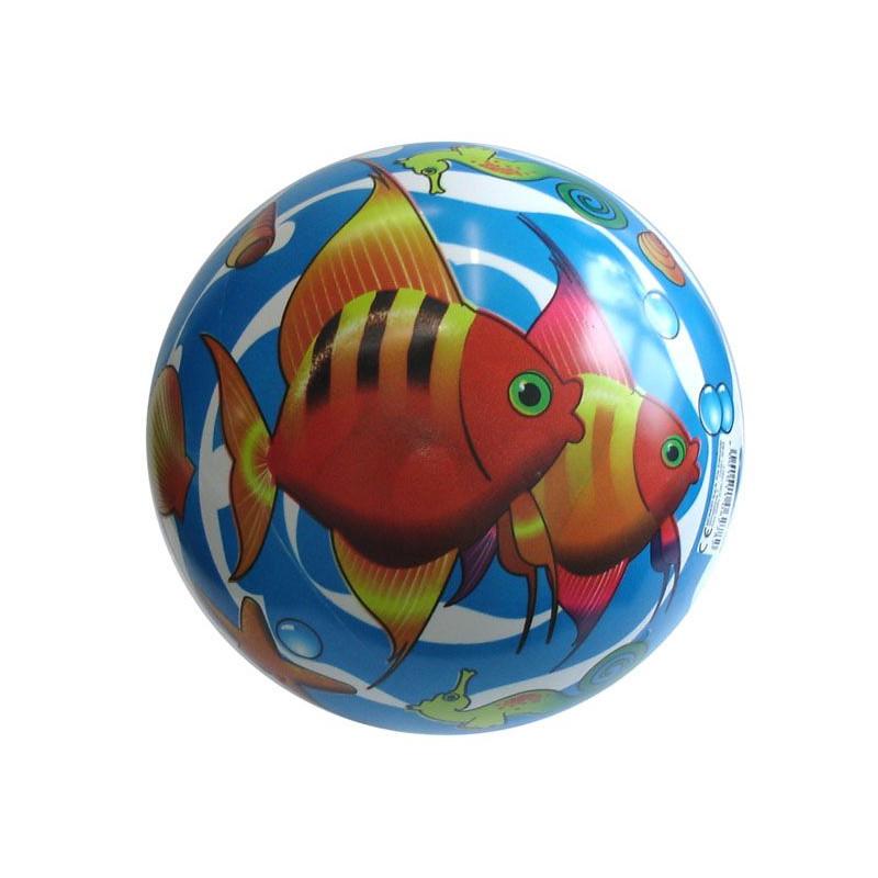 Potištěný míč Rybičky - 220 mm