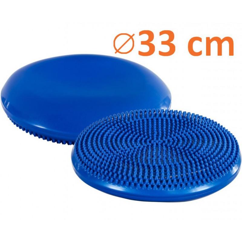 Balanční  polštář na sezení MOVIT 33 cm modrý