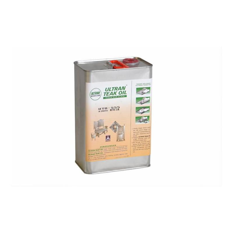 Pečující týkový olej na dřevo - 0,8 l