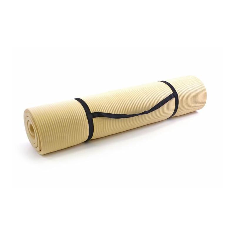 Podložka na cvičení 190 x 102 x 1,5 cm - krémová