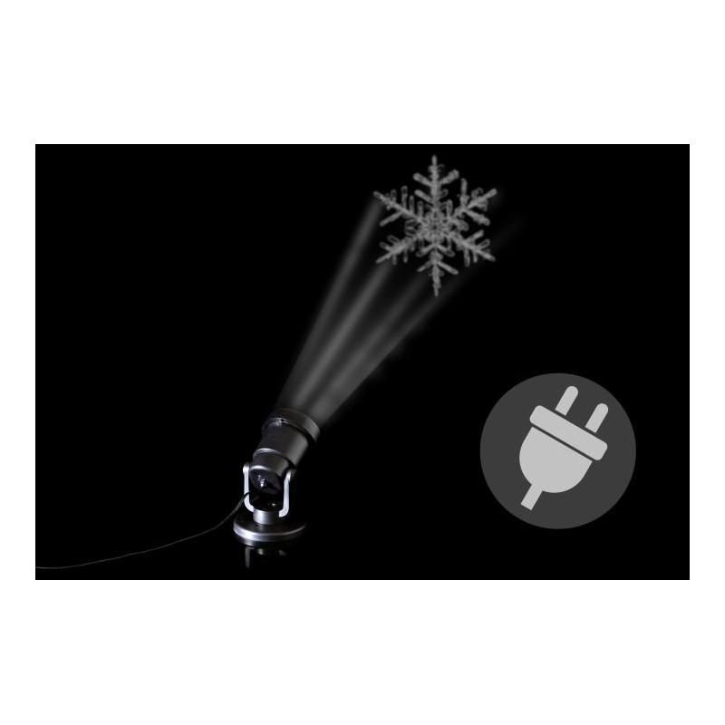 Venkovní LED projektor - sněhová vločka - dosah 15 - 20 m