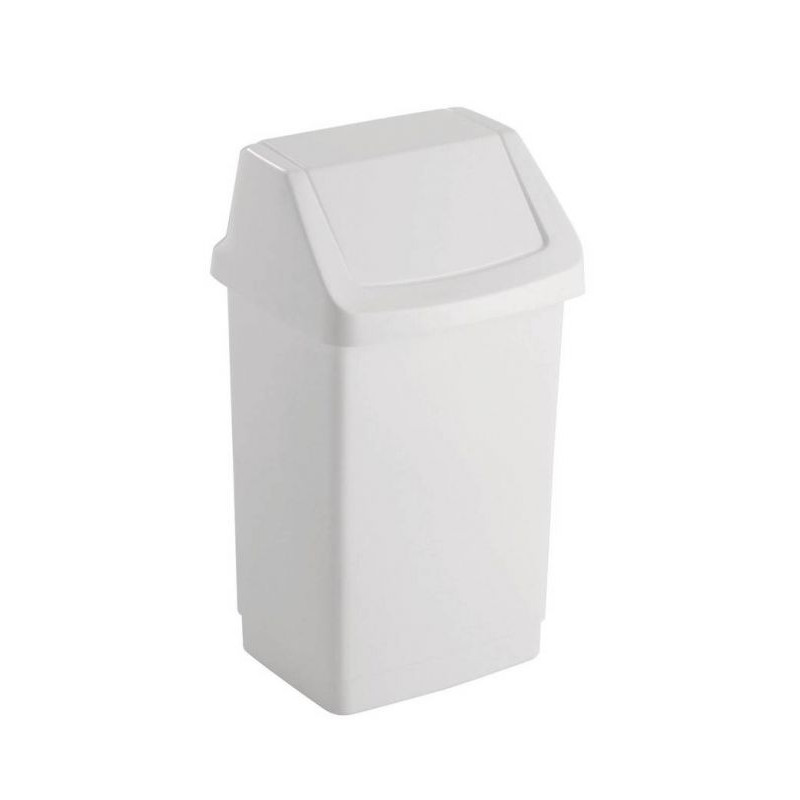 Koš odpadkový CLICK 25l - bílý CURVER