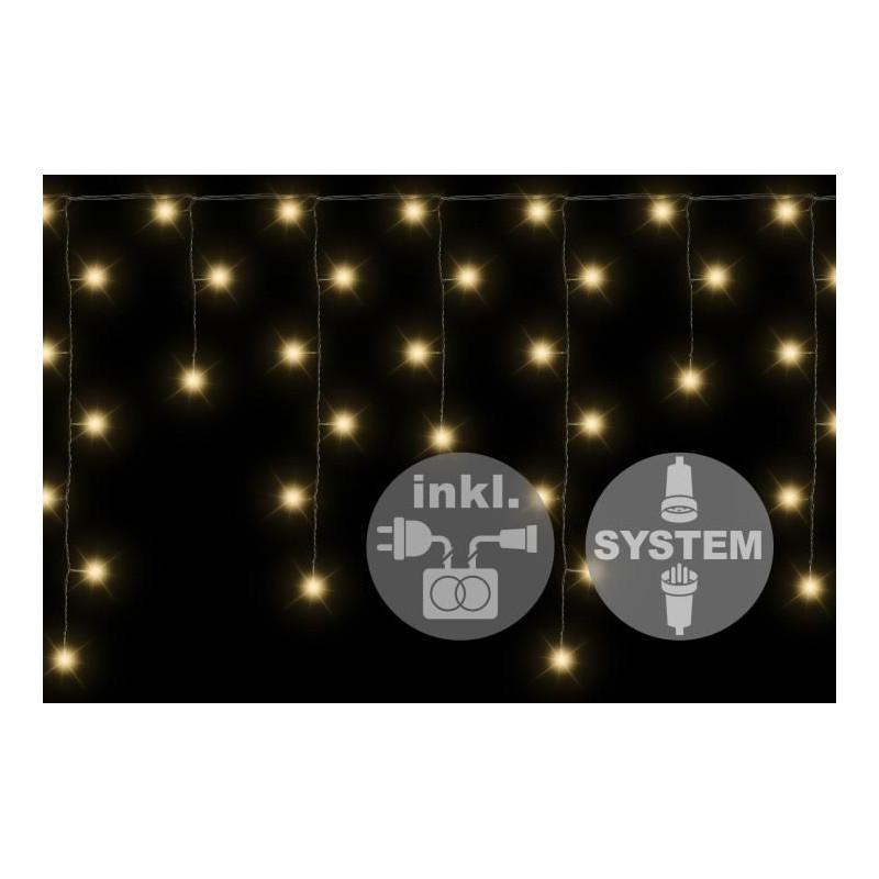 diLED světelný déšť - 80 LED teple bílá + napájení