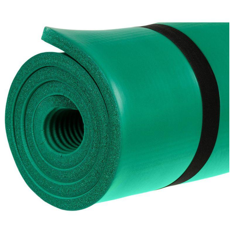 Podložka na jógu MOVIT 190 x 100 x 1,5 cm zelená