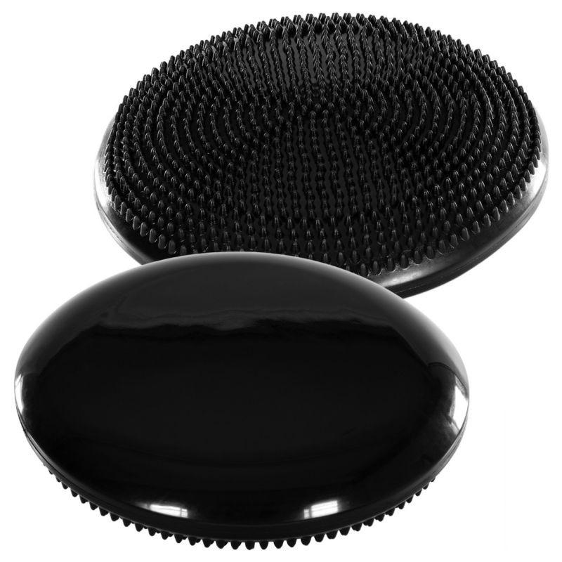 Balanční polštář na sezení MOVIT 33 cm - černý