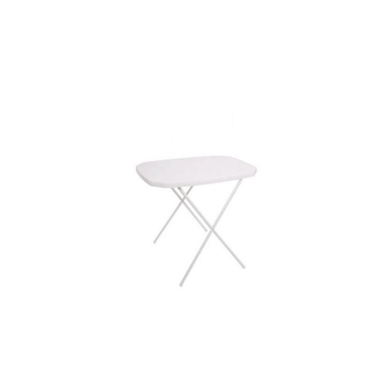 Stůl camping  53 x 70 cm bílý