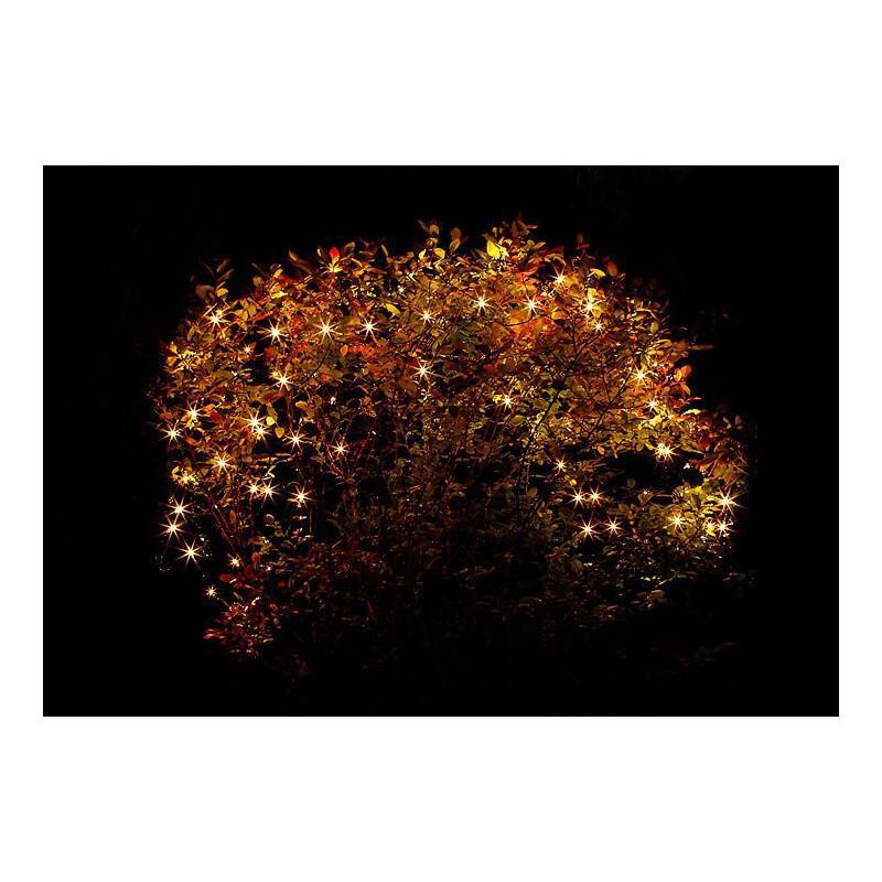 Zahradní světelná síť Garth - 105 x LED dioda, teple bílá