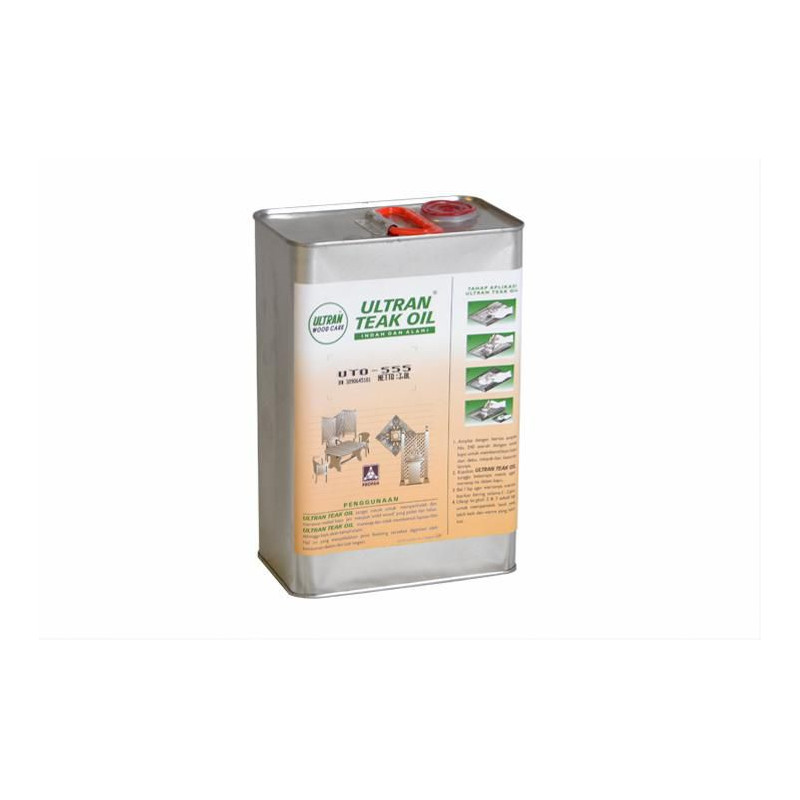 Pečující týkový olej na dřevo - 3,8 l