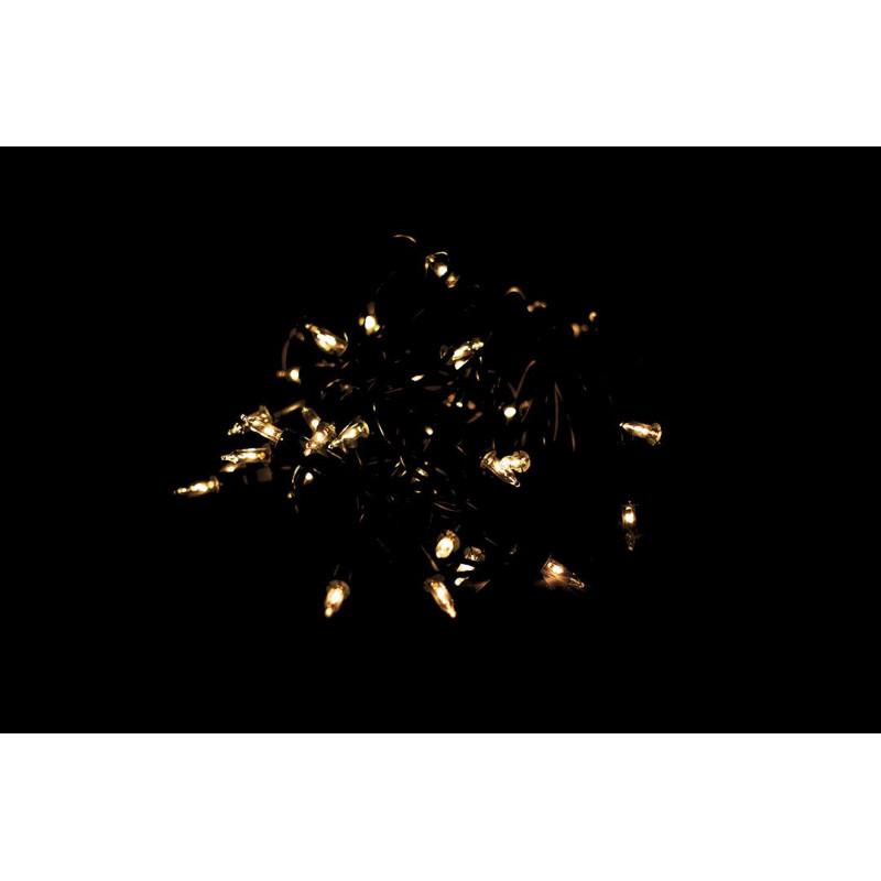 Vánoční světelný řetěz - 35 MINI žárovek - žlutá - 8,30 m