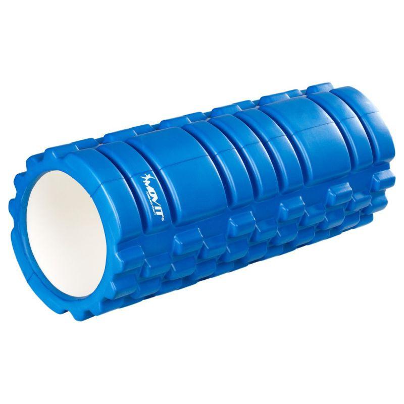Posilovací masážní válec - FITNESS ROLLER MOVIT modrá