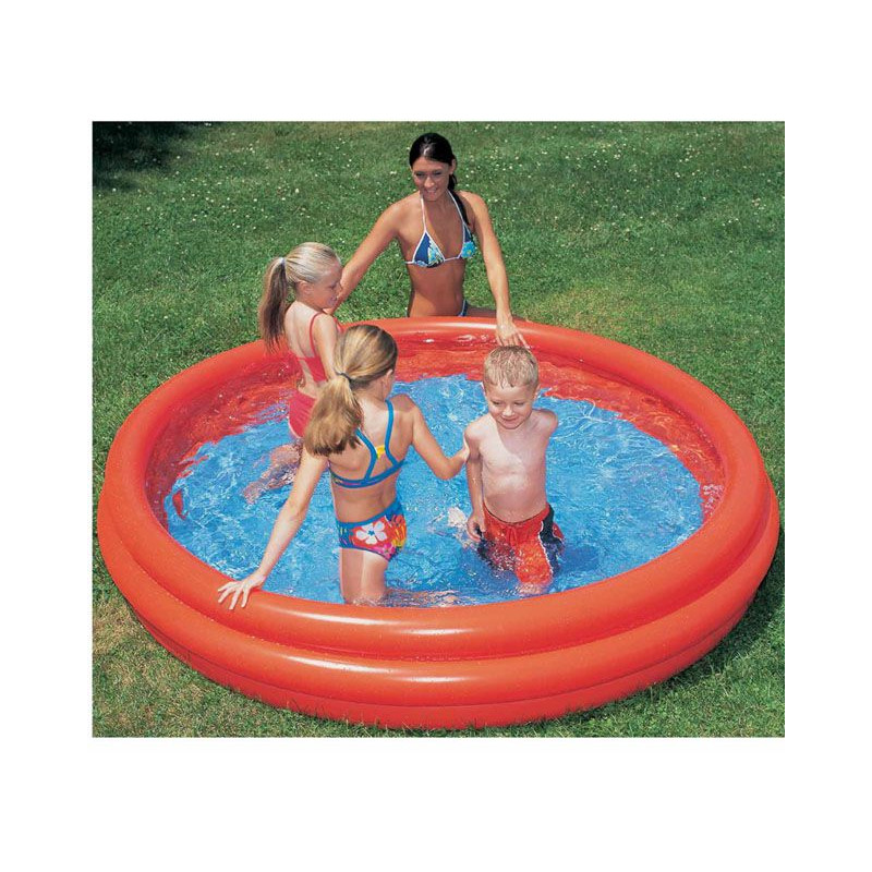Bazén tříkomorový 152x30cm