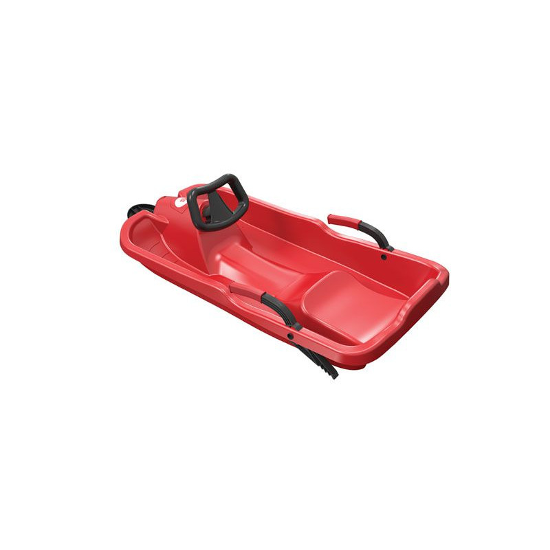 Skibob s volantem - červený
