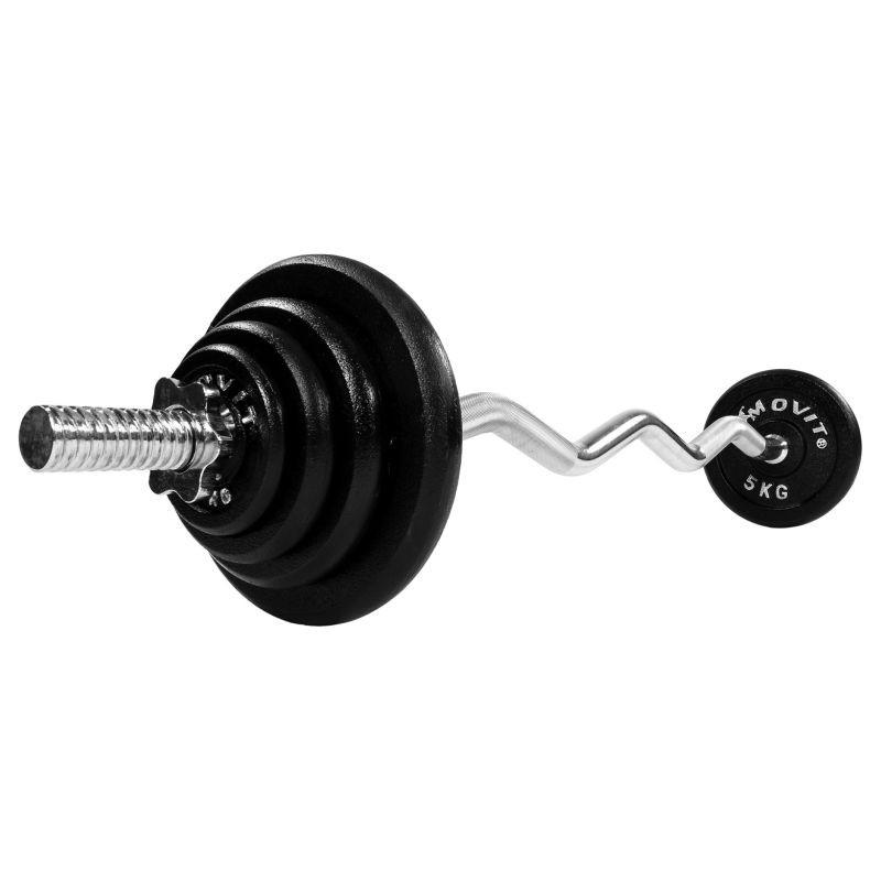 Činkový set Profi 26 kg - činka + závaží