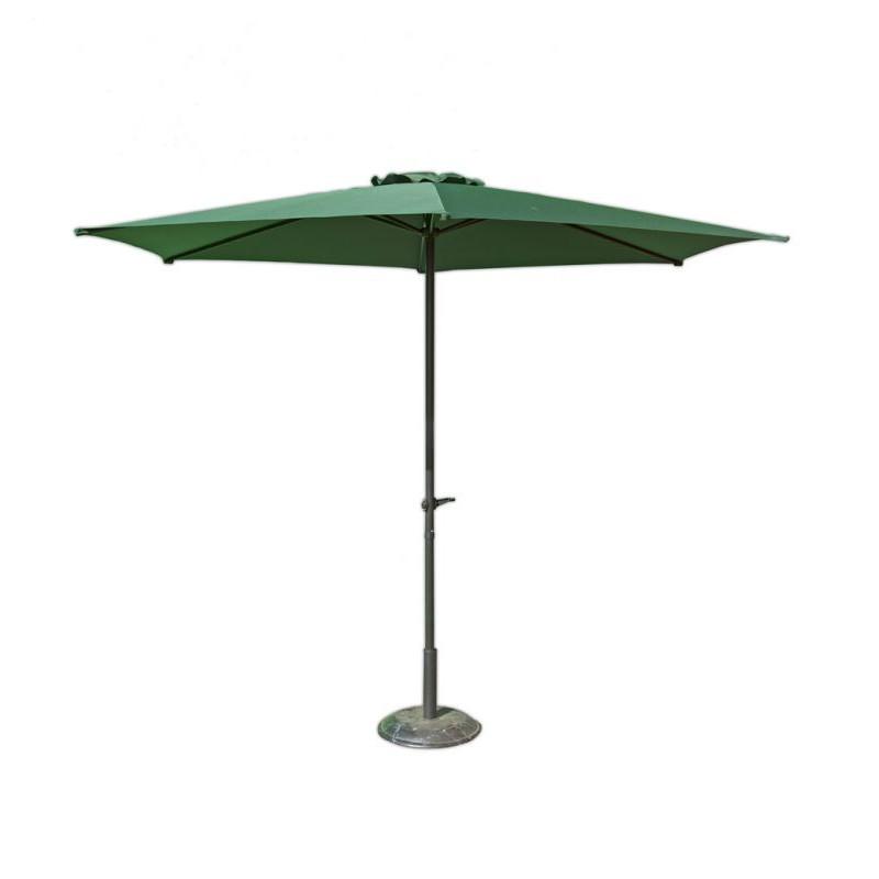 Slunečník ø 270 cm - zelený