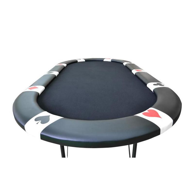 Pokerový stůl BLACK EDITION pro 10 lidí