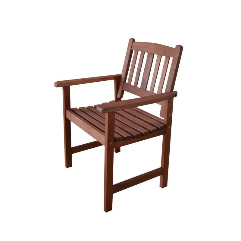 Dřevěné křeslo MALAY