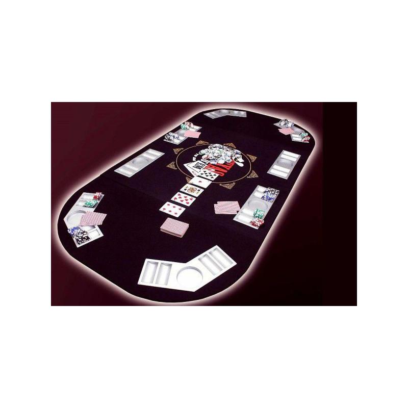Pokerová podložka 165 x 80 cm