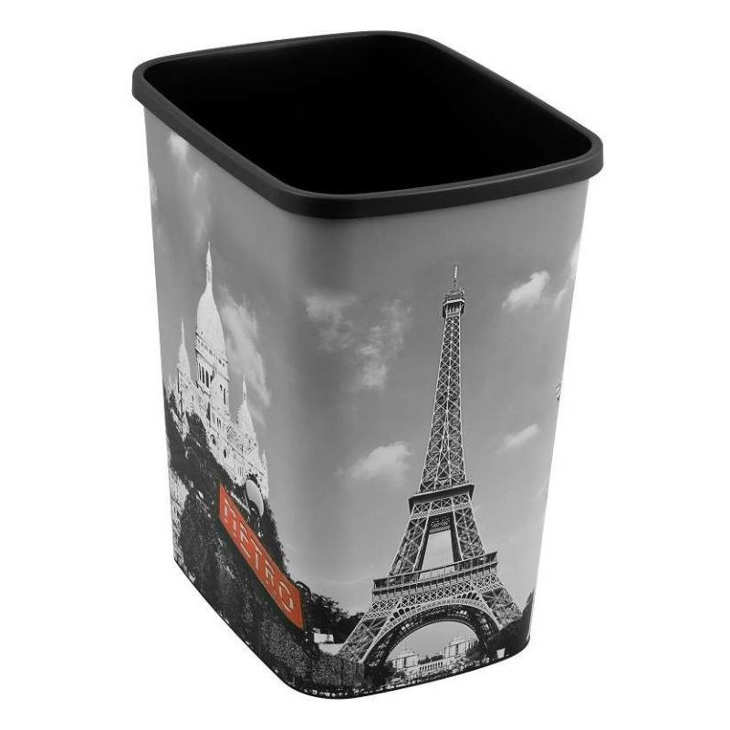 Odpadkový koš FLIPBIN 25l bez víka - PARIS CURVER