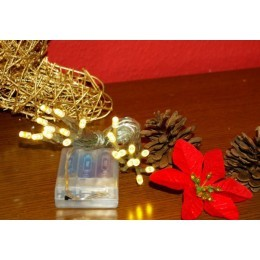 Vánoční LED svíticí řetězy