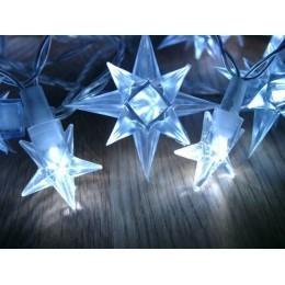 Vánoční osvětlení hvězdy 2017